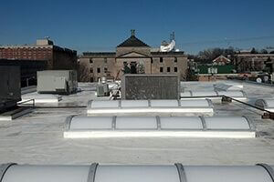 finished commercial roof pritchett bros